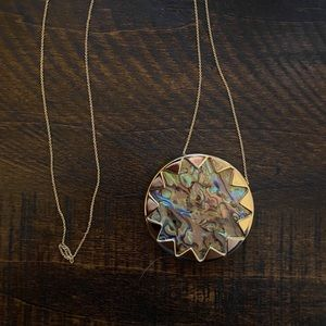 House is Harlow Starburst Necklace